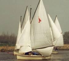 Kielboot: leren zeilen op een valk