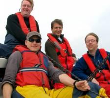 Kielboot: zeiluitjes